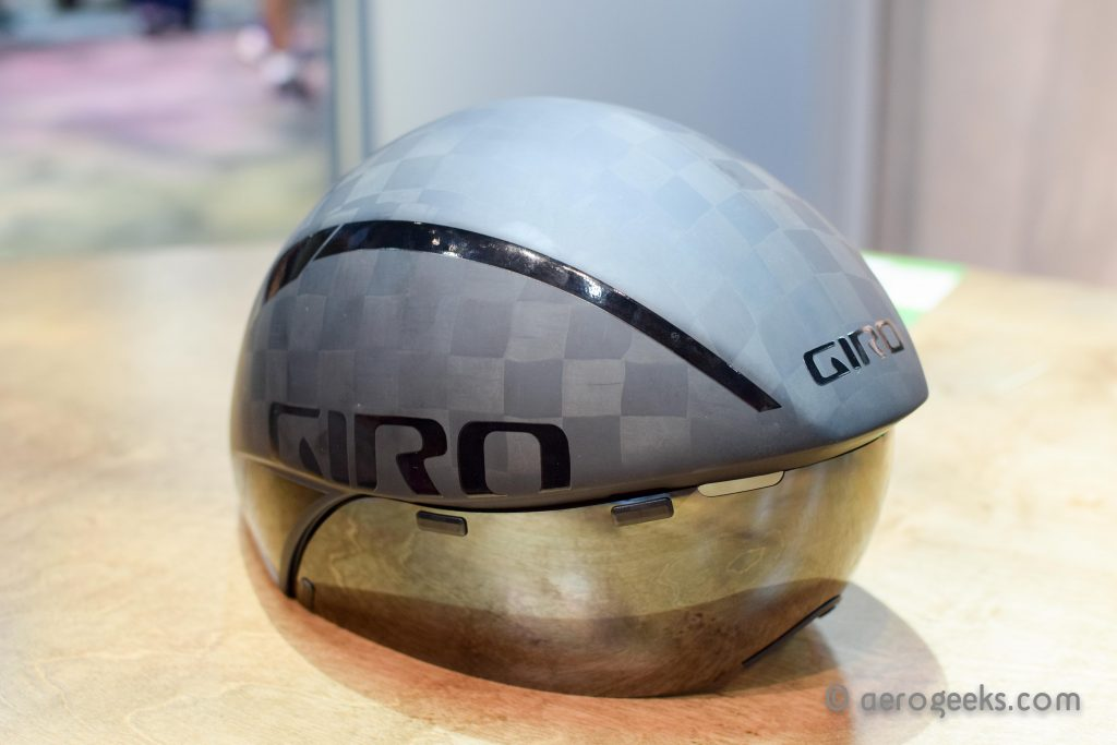 The Giro AeroHead Ultimate in its full TexTreme Carbon glory